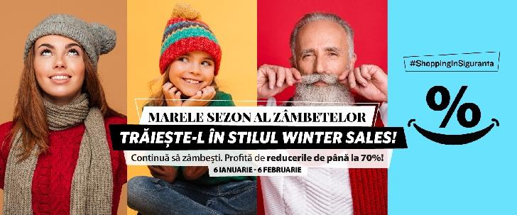 Ploieşti Shopping City continuă Marele Sezon al Zâmbetelor: reduceri de iarnă de până la 70 %
