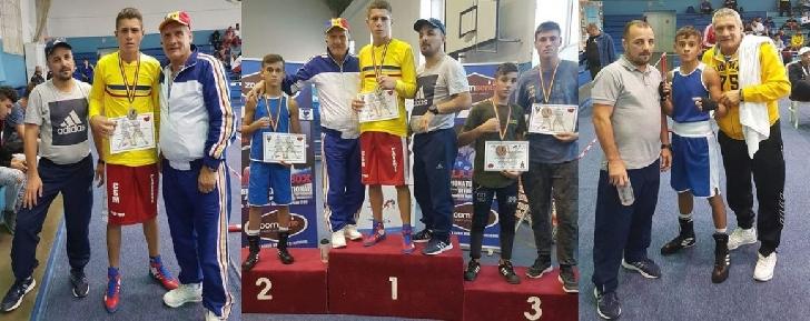 Boxerii Marian Ghinoiu şi Iulian Dumitrescu merg în pregătire cu lotul naţional de tineret