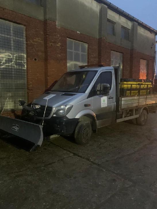 Primăria Ploieşti va scoate utilajele cu antiderapant pe strazile din municipiu