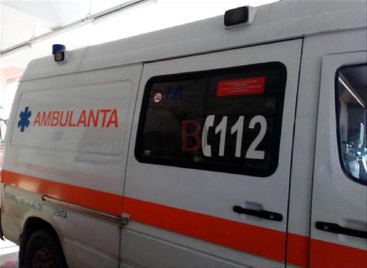 Accident rutier pe DN 1,la Sinaia. Un bărbat a fost transportat la spital