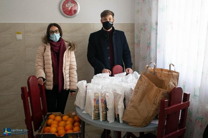 Liga Studenţilor din Centrul Universitar Ploieşti  sprijină comunitatea prahoveană prin organizarea de acte caritabile, chiar şi în contextul pandemic
