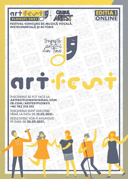 Clubul Artist Ploiesti organizeaza prima editie a concursului ARTfest Ploiesti