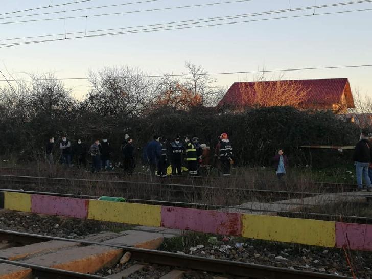 Accident feroviar la Ploieşti, zona Bariera Unirii. Un bărbat a fost lovit de tren