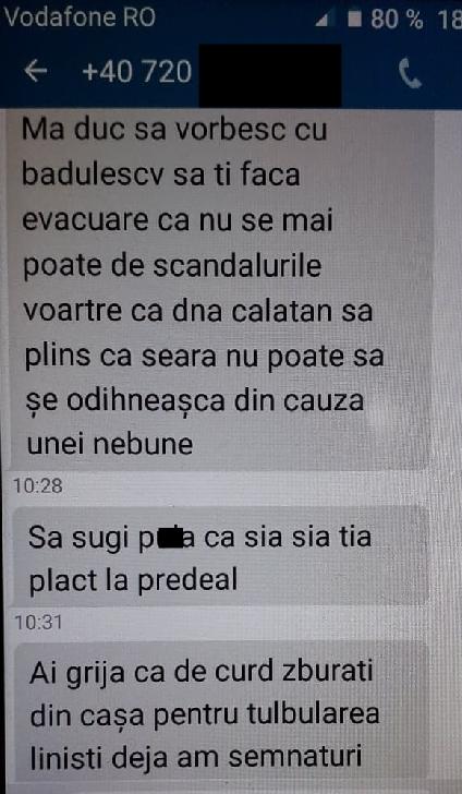 Disperare pentru o femeie cu doi copii din Ploieşti ,care locuieste inr-un bloc social .Aceasta este jignită,umilită şi ameninţată de un fost preşedinte de asociatie,autoritatile par ca tac...