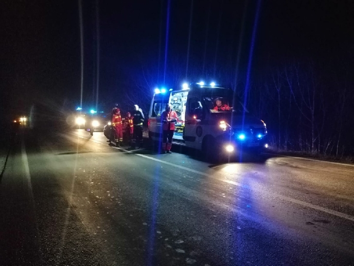 O femeie a decedat  după ce a fost lovita de un autobuz,la Boldeşti Scăieni