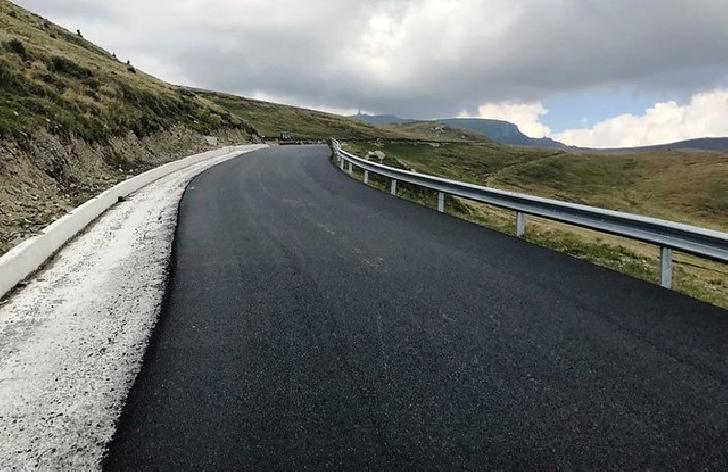 Drumul judeţean 713 (Transbucegi) a fost deschis circulaţiei