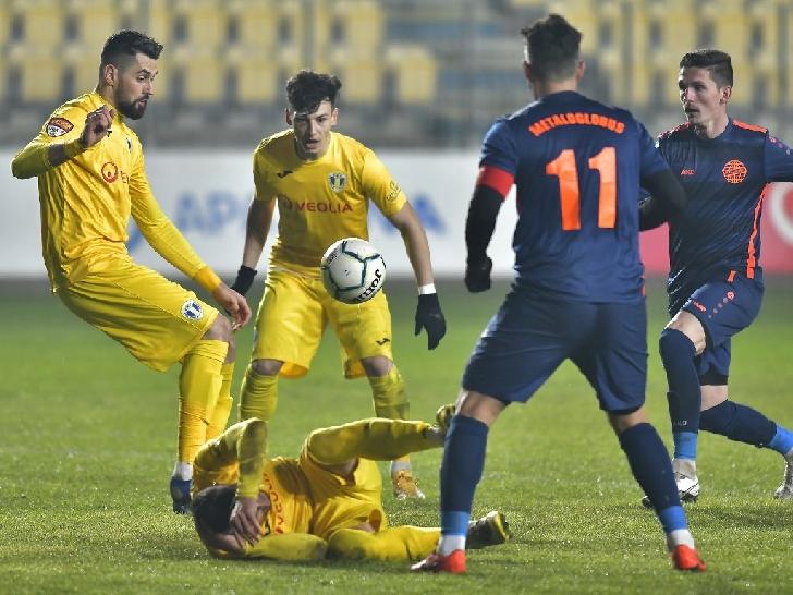 Prima finală câştigată în lupta pentru promovare. PETROLUL PLOIESTI-Metaloglobus Bucureşti 1-0