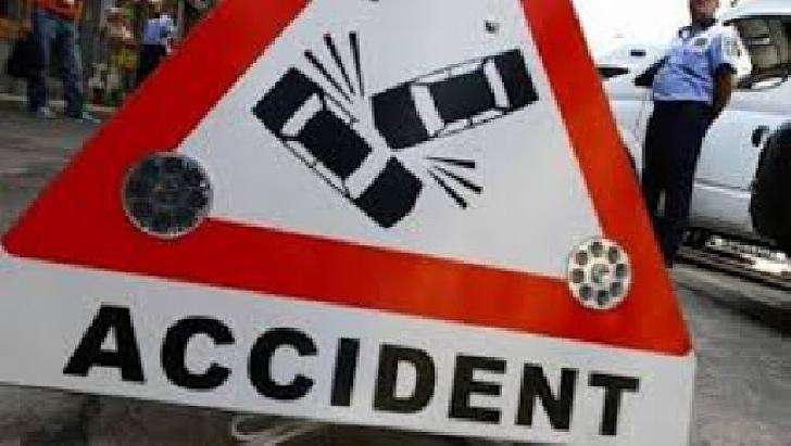 Accident rutier în satul Ciupelniţa. Un pieton a fost transportat la spital