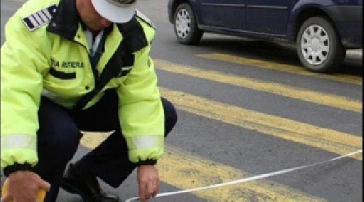 Un pieton a fost lovit  de un autoturism,la Baicoi