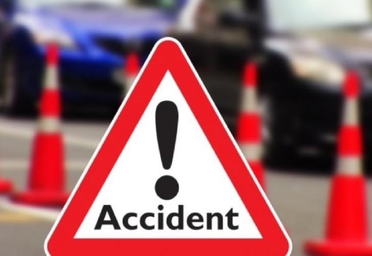 Accident rutier pe DN 1 D, în Ciorani