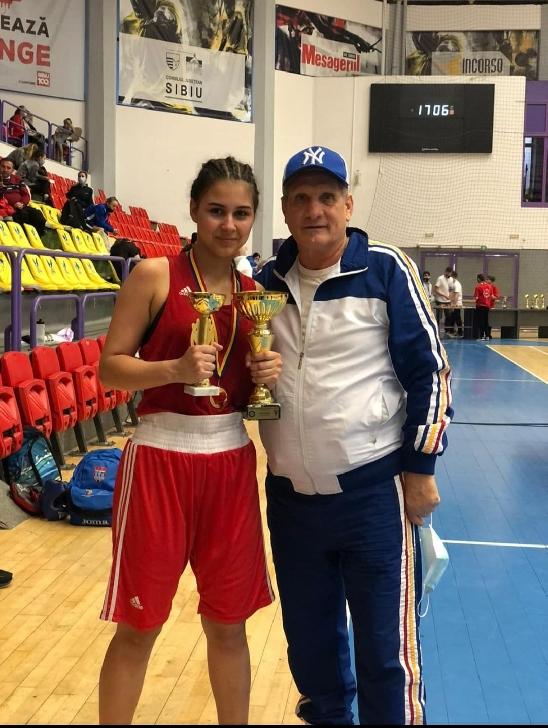 EXCLUSIV. Interviu cu Isabel Gabriela Pirvu (CSM Ploieşti),câştigătoare a Cupei României 2021 la box,categoria junioare