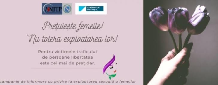 Agenţia Naţională Împotriva Traficului de Persoane a lansat  campania online de prevenire a traficului de persoane.Preţuieşte femeile! Nu tolera exploatarea lor!