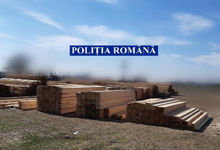 Poliţiştii prahoveni au confiscat 124 mc cherestea, în valoare totală de peste 105.000 de lei