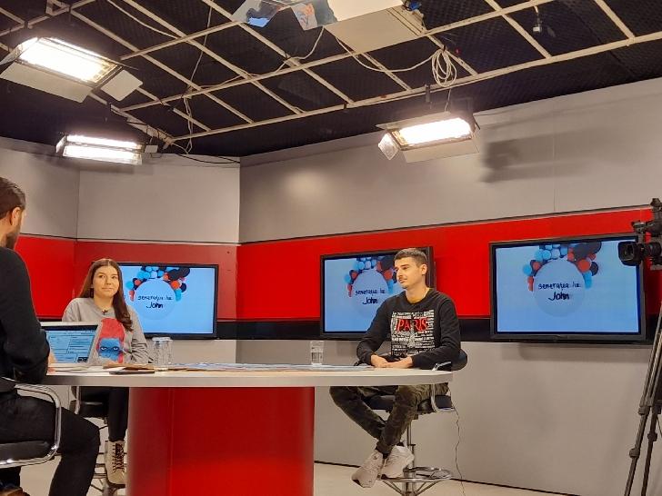 """Maria Petre şi Fratele Tase (colaboratori Info Ploieşti City), în emisiunea"""" Generaţia Lui John"""" (video)"""