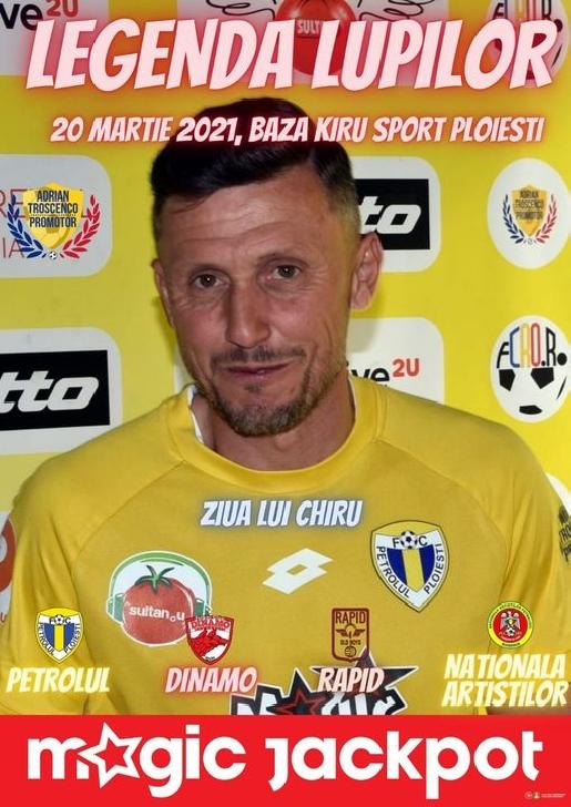 """Turneul de minifotbal"""" Legenda lupilor"""" se va desfăşura, sâmbătă, la Baza Sportivă Kiru Sport"""