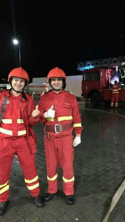 Doi paramedici din cadrul Detaşamentului de Pompieri Sinaia au fost eroi pentru un bărbat în vârstă de 60 ani