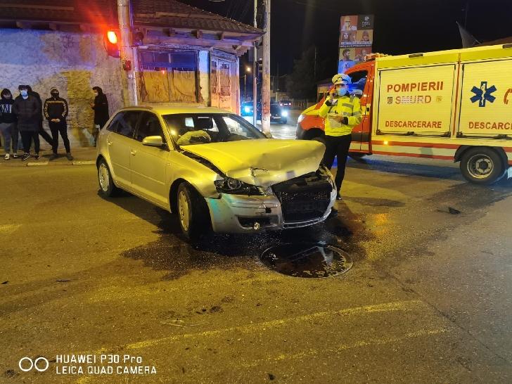 Accident rutier pe strada Mărăşeşti din Ploieşti. Un minor a fost rănit