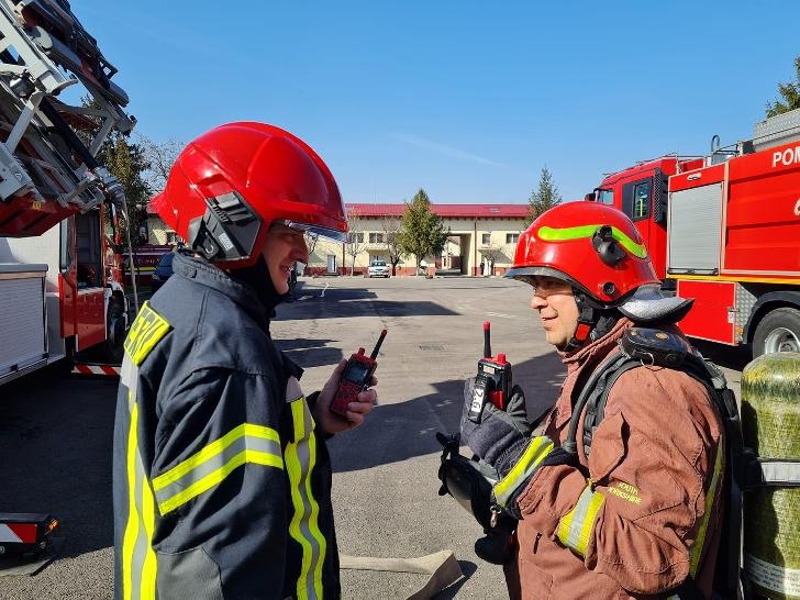 ISU Prahova va desfasura  un exercitiu de antrenament pe platforma  Rafinariei  Petrobrazi