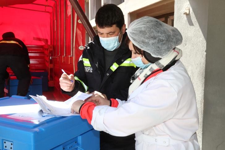 Sprijin oferit autorităţilor din Republica Moldova în eforturile de combatere a pandemiei COVID-19 -Sars Cov 2