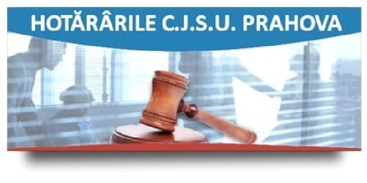Comitetul Judeţean pentru Situaţii de Urgenţă Prahova. Hotărârea nr.28 din 3 aprilie 2021