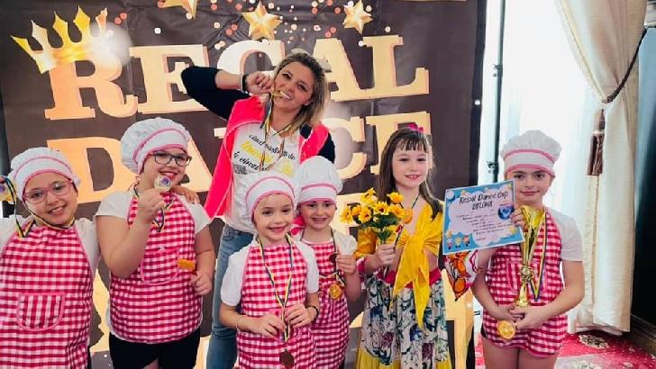 """Premii importante pentru trupele de dans din Ploieşti, la"""" Regal Dance Cup"""" 2021"""
