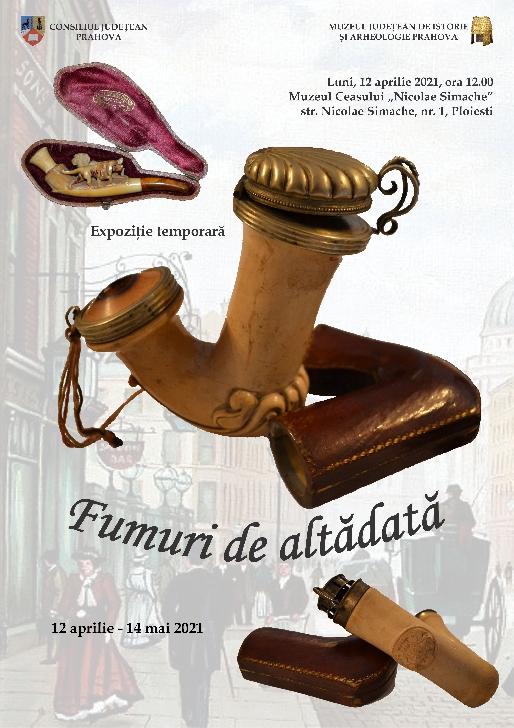 """Muzeul Ceasului """"Nicolae Simache"""" din Ploieşti organizeaza expoziţia temporară """"Fumuri de altădată"""""""