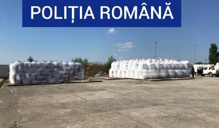 48 de tone de îngrăşăminte chimice cu azotat de amoniu, confiscate  de poliţiştii prahoveni