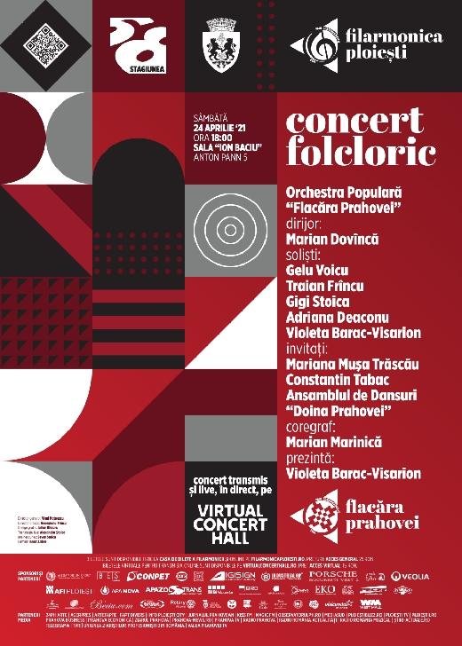 """Orchestra Populară """"Flacăra Prahovei"""", condusă de dirijorul Marian Dovîncă,va sustine un concert la Filarmonica din Ploiesti"""