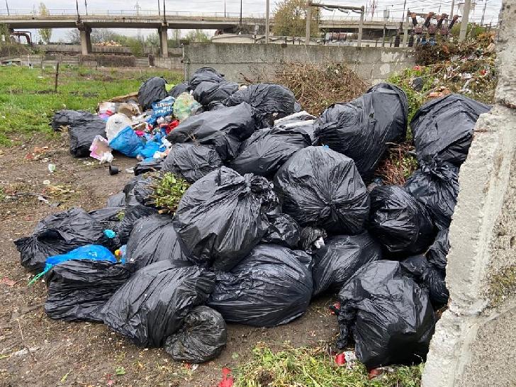 SGU Ploieşti a strâns 200 saci de gunoi după acţiunea de curăţenie iniţiată de Primăria Ploieşti