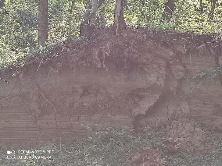 Alunecarea de teren din satul Livadea este activă în continuare