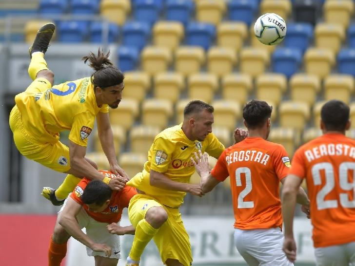 Victorie in ultima etapa a sezonului 2020-2021. Petrolul Ploiesti - Aerostar Bacau 2-0
