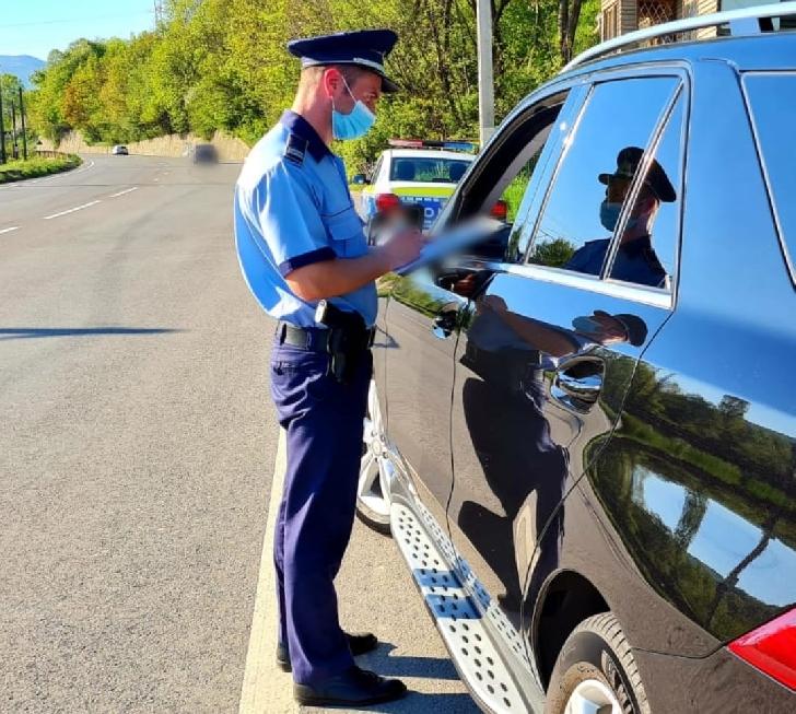 46 de sancţiuni contravenţionale în valoare totală de aproximativ 27.800 de lei ,aplicate de politistii rutieri din Prahova