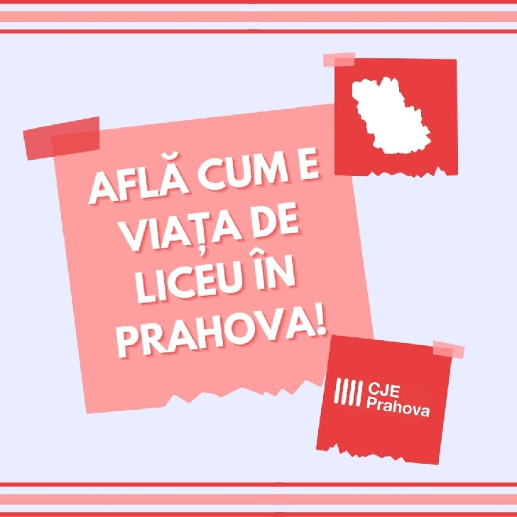 """Consiliul Judeţean al Elevilor Prahova va organiza  târgului educaţional online """"Află cum este viaţa de liceu în Prahova!"""""""