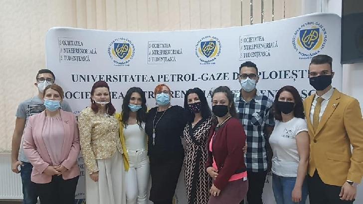 10-12 mai 2021.Studenţii voluntari de la Universitatea Petrol-Gaze din Ploieşti împreună cu profesorii lor au organizat:ZILELE UNIVERSITARE EUROPENE,ed.a VIII-a