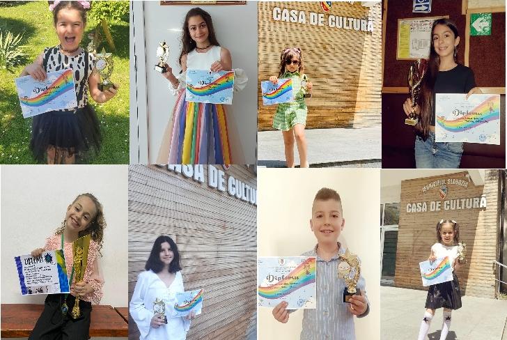 """Weekendul trecut a adus premii importante pentru Clubul Artist Ploieşti la Concursul de muzică"""" Magia Copilăriei"""" şi competiţia Alexis On Tour"""