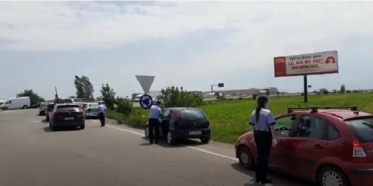IJP Prahova a organizat o actiune rutiera în localitaţile Blejoi, Păuleşti, Bucov, Bărcăneşti şi Târgşoru Vechi (Video)