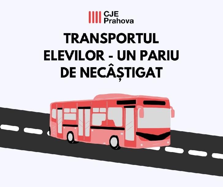 Comunicat Consiliul Judeţean al Elevilor Prahova. Transportul elevilor – un pariu de necâştigat!