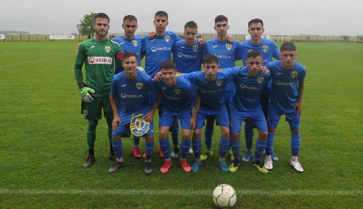 """Juniorii """"U16""""  Petrolul Ploiesti s-au calificat la turneul final al Ligii Elitelor"""