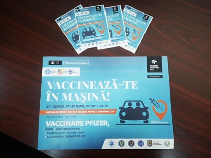 Informare de presă privind situaţia COVID-19 şi a vaccinării anti SARS-CoV-2, în Prahova, 30 mai 2021