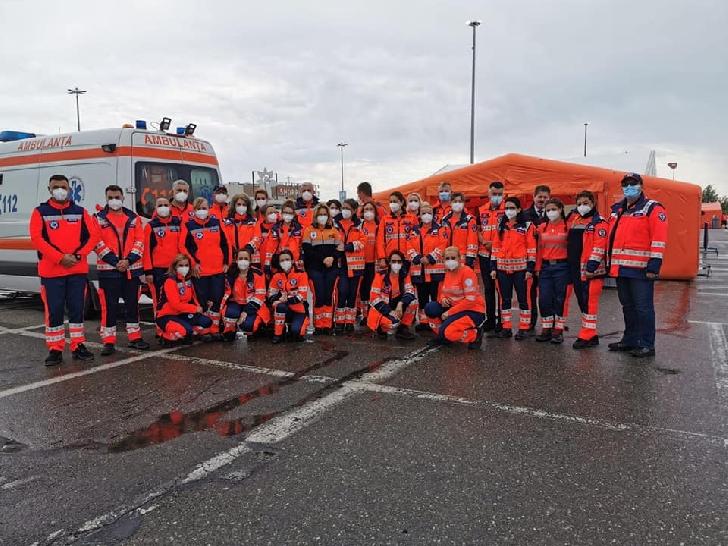 PESTE 1000 PERSOANE S-AU VACCINAT LA CENTRUL DE TIP DRIVE-THROUGH DIN PARCAREA PLOIEŞTI SHOPPING CITY