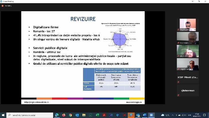 Strategia de Specializare Inteligentă a regiunii Sud Muntenia 2021-2027 a fost avizată de către Consorţiul Regional de Inovare Sud Muntenia
