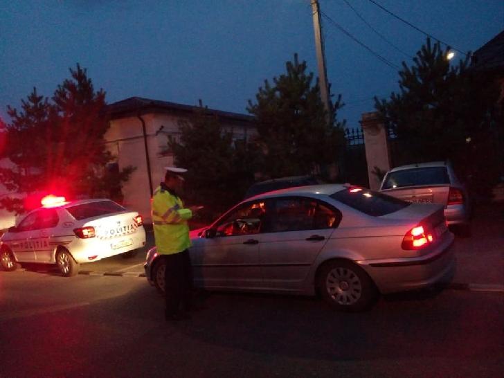 Noaptea trecută în Ploieşti a avut loc o acţiune rutieră