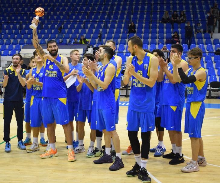 Echipa de baschet seniori a CSM Ploieşti a promovat în Liga Naţională