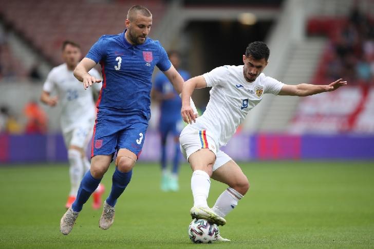 Romania a pierdut amicalul cu Anglia.Anglia-Romania 1-0