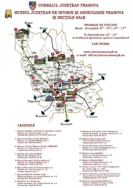 Bilete online la Muzeul Judeţean de Istorie şi Arheologie Prahova
