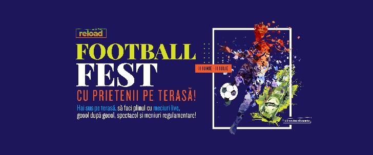 Între 11 iunie - 11 iulie, cele mai importante meciuri de fotbal ale anului vin în direct  sus pe terasa Ploieşti Shopping City