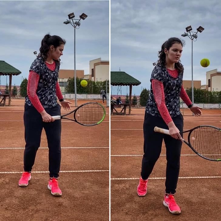 """Succes de ziua ei. Ploieşteanca Alexia Rotaru a câştigat  turneul de tenis (amatori) """"Grand Şlam Arena"""""""