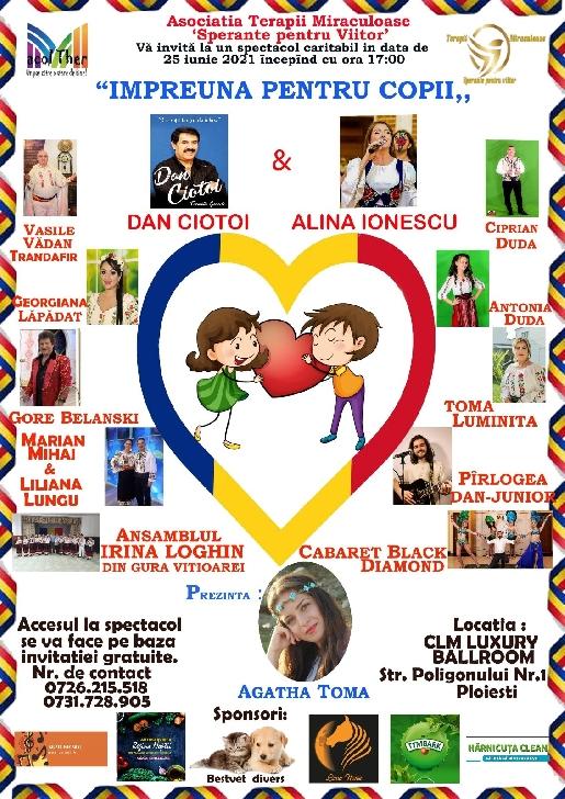 Spectacol caritabil pentru copii, la CLM LUXURY BALLROOM Ploieşti