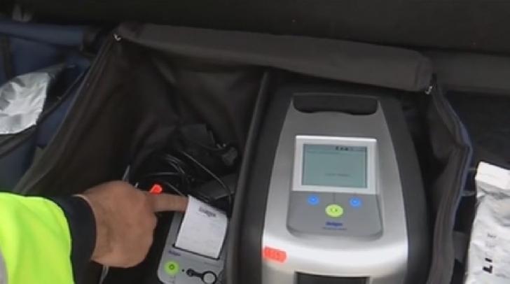 În Azuga, un şofer a fost prins drogat la volan