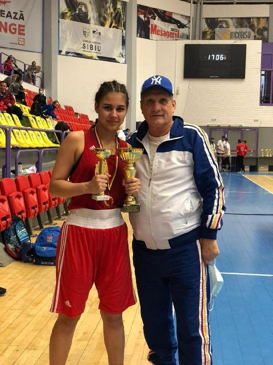 Isabel Pîrvu va reprezenta România la Campionatele Europene de Box pentru Juniori